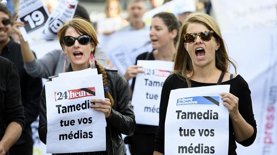 Tamedia: «Nur» noch zwölf Entlassungen in der Romandie