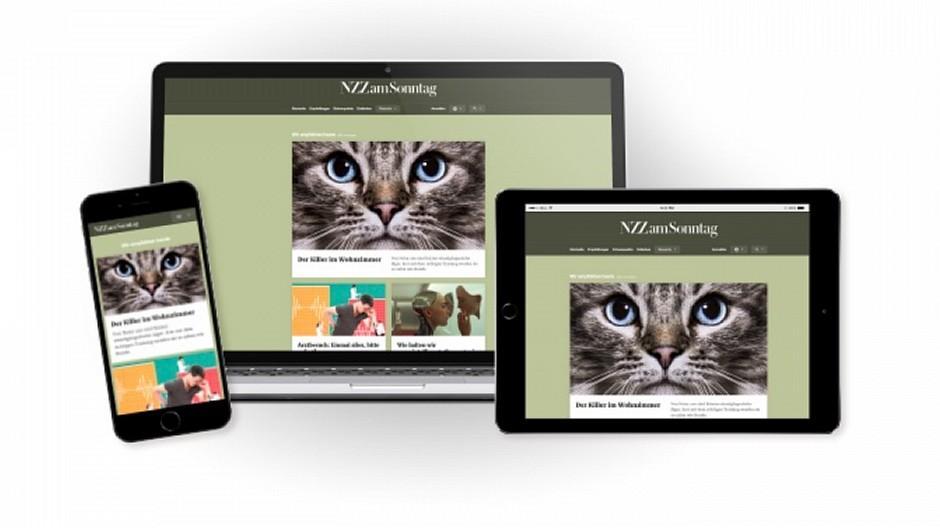 NZZ: «NZZ am Sonntag» lanciert eigene Webseite