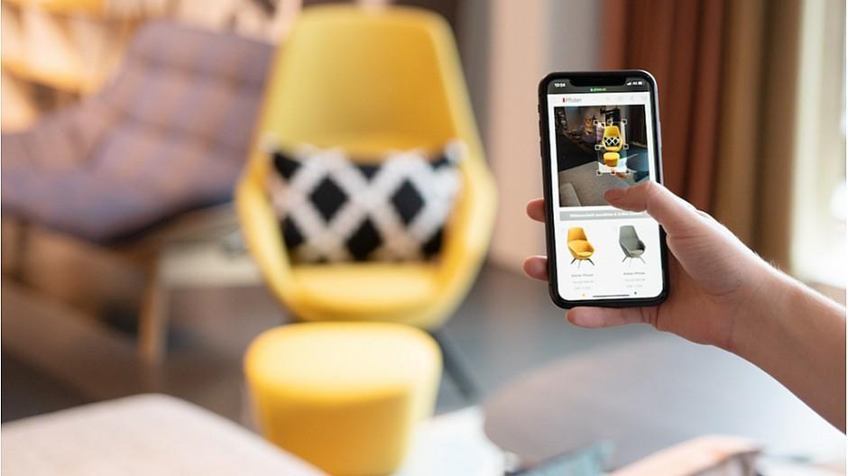 Möbel Pfister: Online-Einkauf mit innovativer Bildsuche