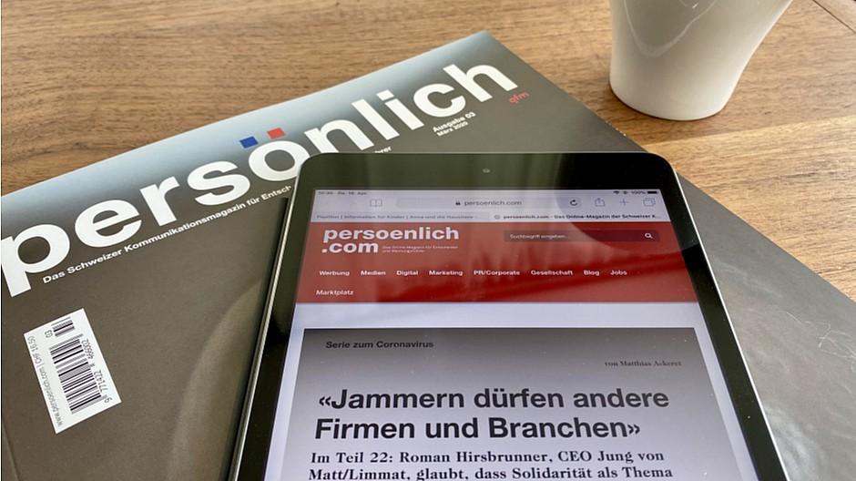 In eigener Sache: persoenlich.com verzeichnet starkes Wachstum