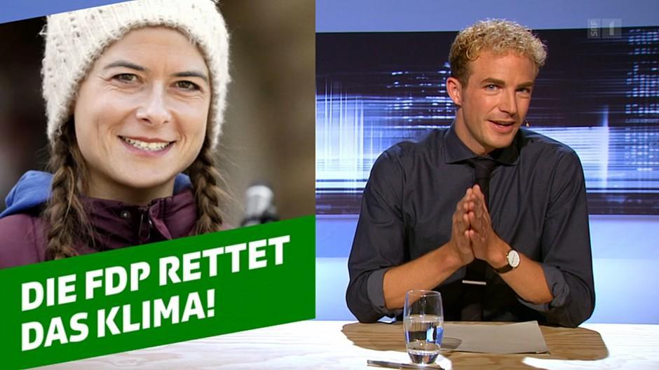 Late Update: Petra Gössi beklagt sich über FDP-Witz