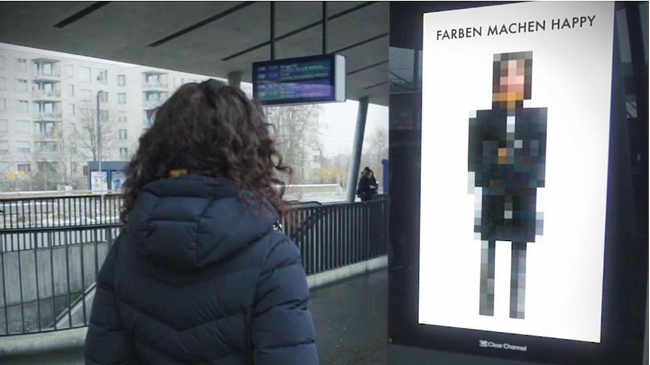 Y&R Group Switzerland / Wunderman: Plakat-Scanner analysiert die Stimmung