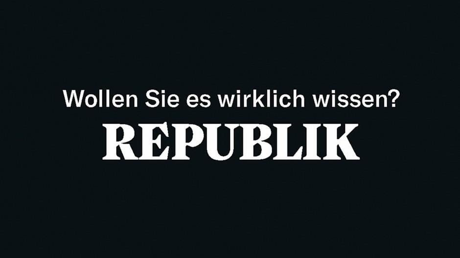 Republik: Plakatkampagne in Zürich gestartet