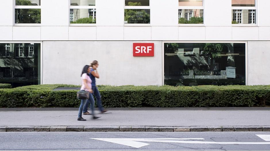 SRF: Polizeieinsatz vor Radiostudio in Bern