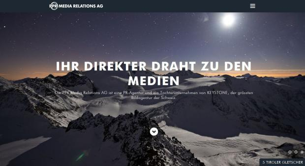 PPR Media Relations: Online-Auftritt in frischem Design