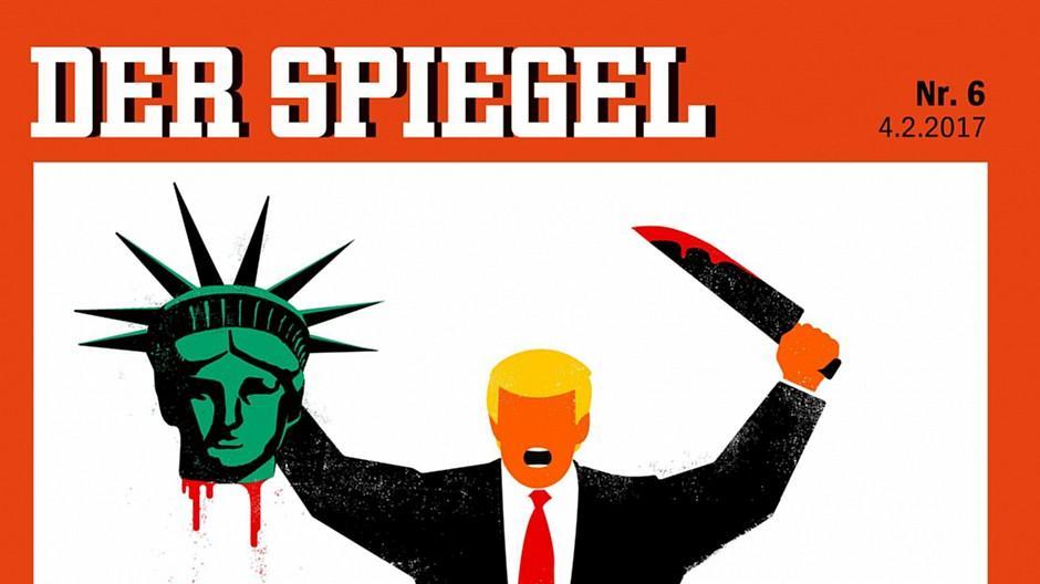 Spiegel: Presseratsbeschwerden wegen Trump-Cover