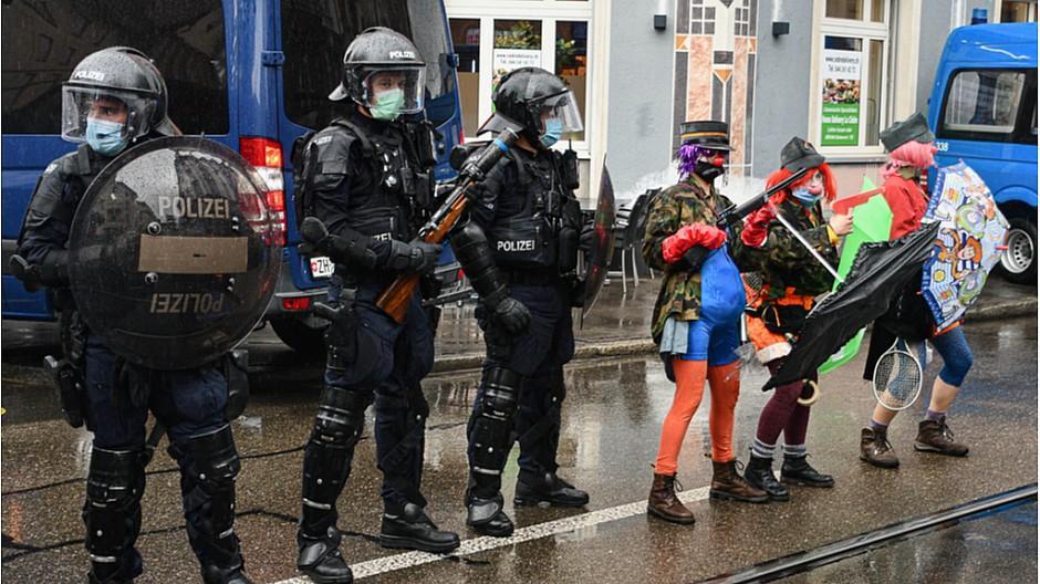 1. Mai: Presseverbände kritisieren Zürcher Polizei