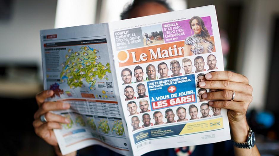 Tamedia: Printausgabe von «Le Matin» wird eingestellt
