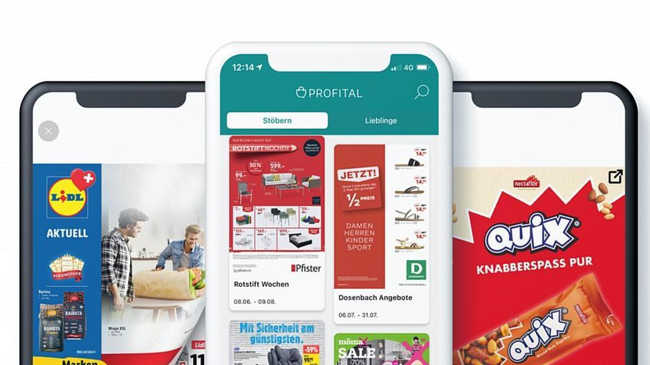Profital: Prospekte-App steigert Umsatz stark