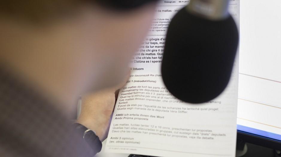 SRG-Ombudsstelle: Rätoromanisch «kein einziges Mal erwähnt»