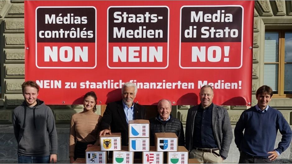 Medienförderung: Referendum gegen Mediengesetz eingereicht