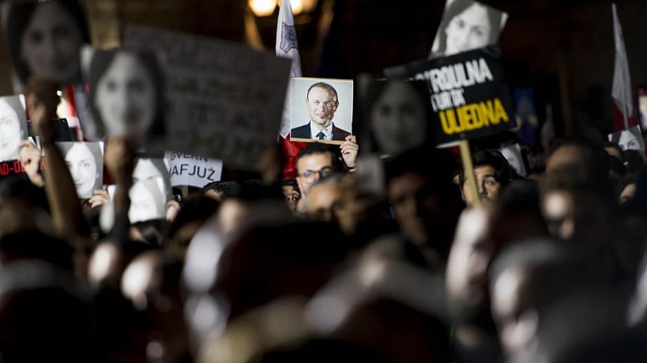 Journalistinnenmord auf Malta: Regierungschef kündigt Rücktritt an