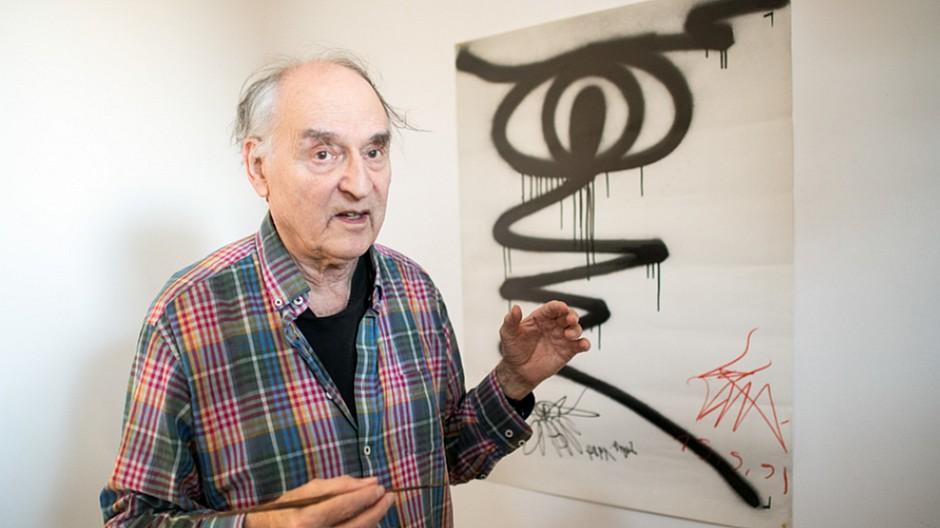 Harald Naegeli: Rettet den Sprayer von Zürich