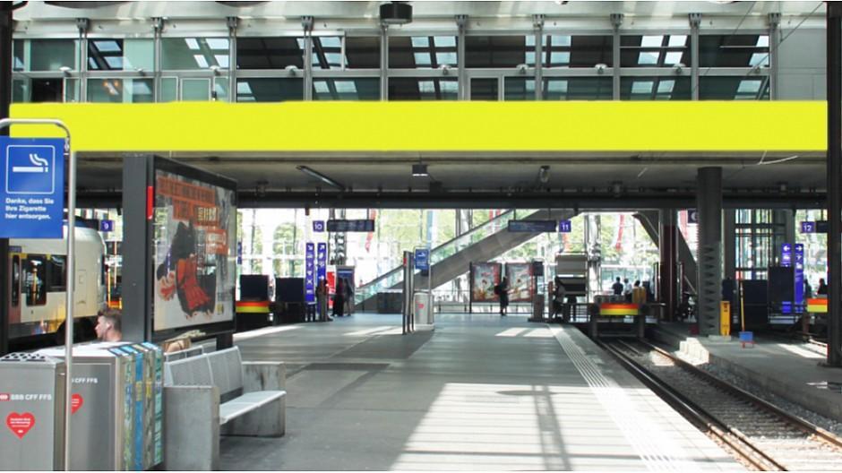 SBB: Riesen-Anzeigetafel auch für Werbung