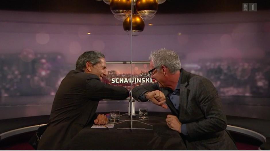 Emotionales Finale: Roger Schawinski verabschiedet sich vom Leutschenbach