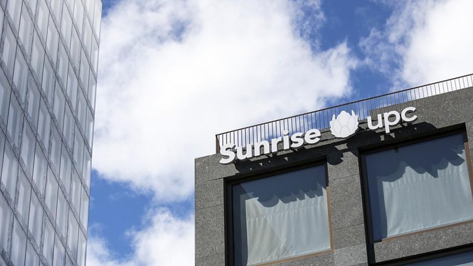 Sunrise UPC: Rund 58'000 Kunden dazugewonnen