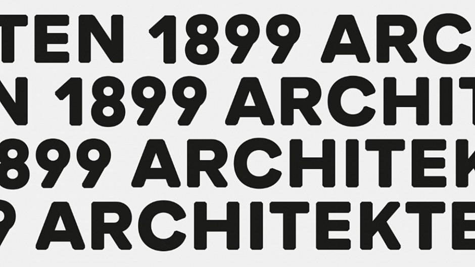 In Flagranti: Runder Auftritt für ein Architekturbüro