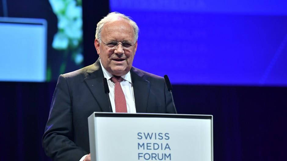Swiss Media Forum 2018: Schneider-Ammann eröffnet den Medienkongress