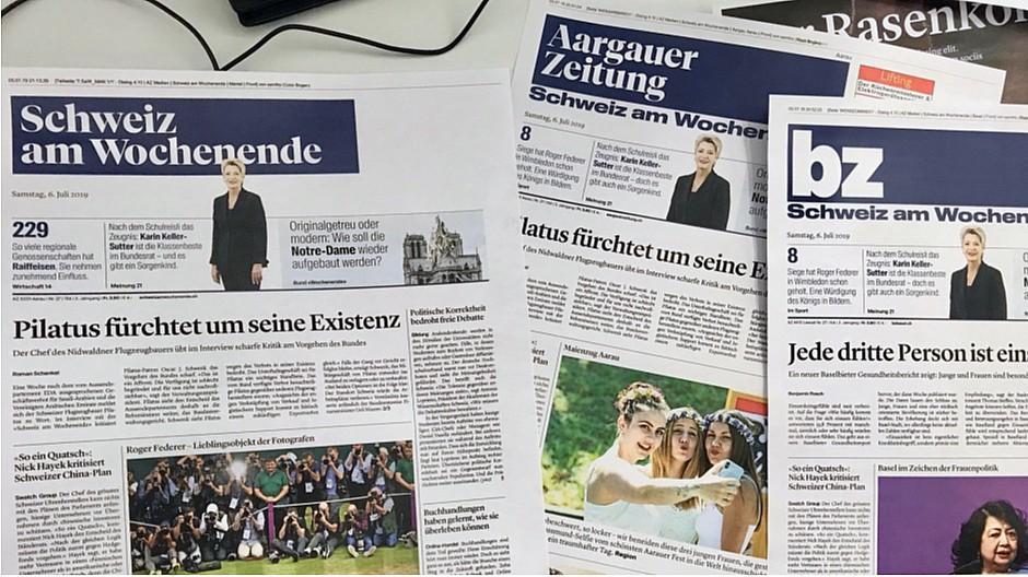 CH Media: «Schweiz am Wochenende» mit neuem Layout