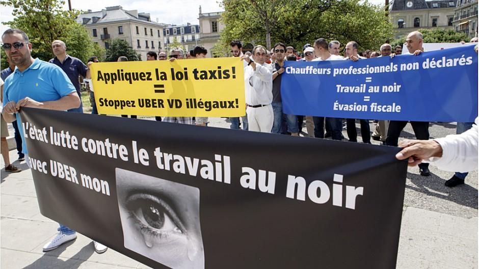 Uber: Schweizer Subunternehmen nutzen Fahrer aus