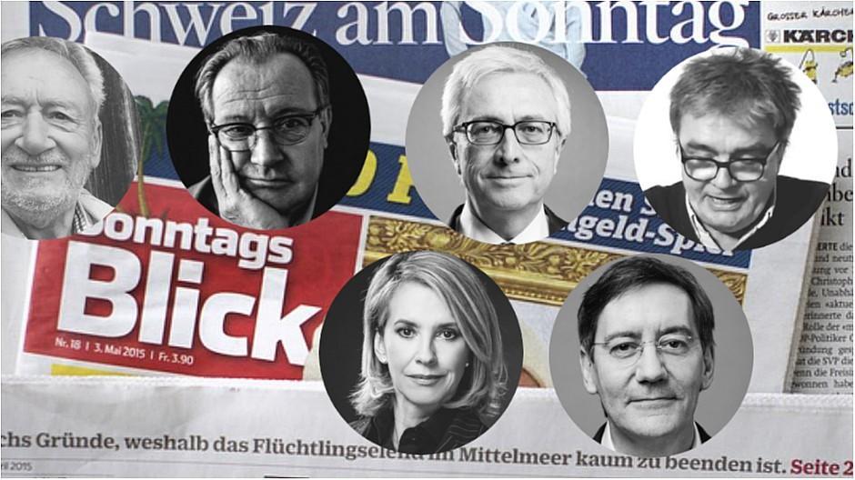 50 Jahre «SonntagsBlick»: Sechs Ex-Chefredaktoren – sechs Erinnerungen