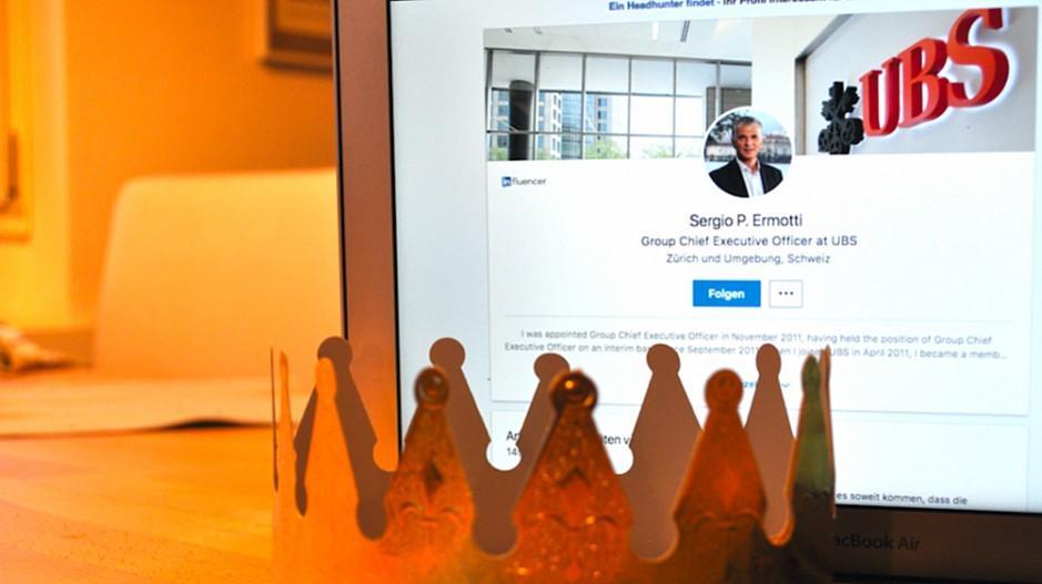 Chefs auf Social Media: Sergio Ermotti ist LinkedIn-König