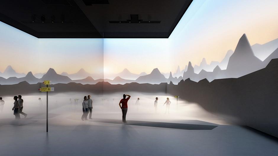 Expomobilia: So sieht der Schweizer Expo-Pavillon aus