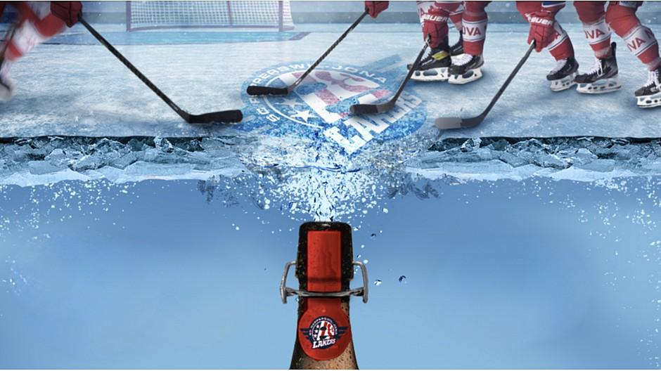 Wunderman Thompson: So wird ein Eishockeyfeld trinkbar
