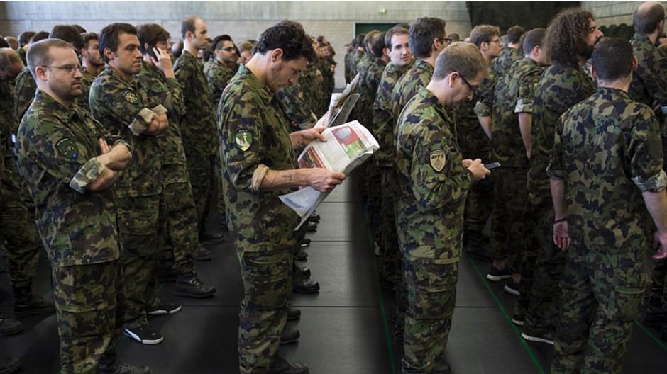 Zeitungsabos der Armee: Soldaten lesen fast keine Zeitung mehr