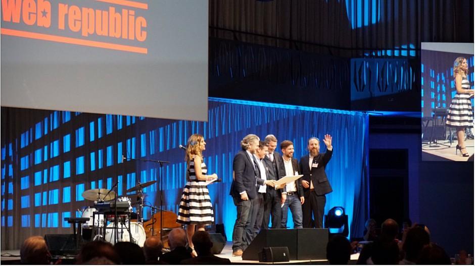 Webrepublic: Sonderpreis der Zürcher Kantonalbank erhalten