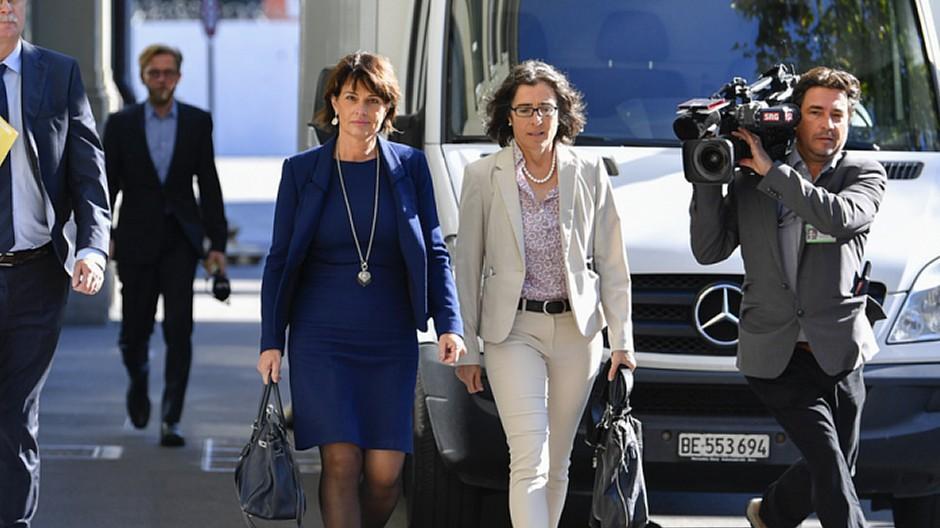 Uvek: Sprecherin Annetta Bundi blickt zurück