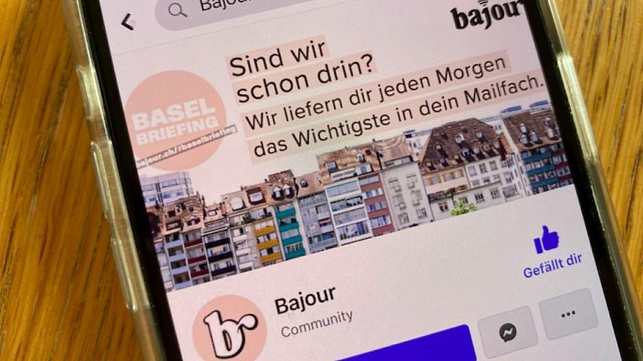 4000 Franken: SRF will Bajour Follower nicht verkaufen