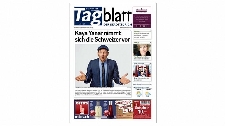 Tagblatt der Stadt Zürich: Stadt Zürich hält vorerst an gedruckten Amtsblatt fest