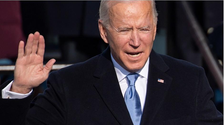 Inauguration in Washington: Stars gratulieren Biden und Harris