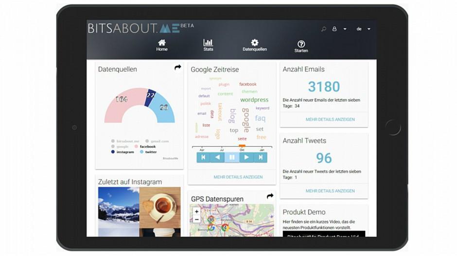 BitsaboutMe: Start-up gibt Kontrolle über Daten zurück