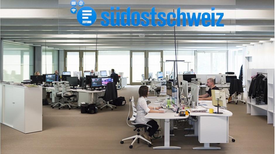 Somedia: «Südostschweiz» schafft Bundeshausredaktion ab