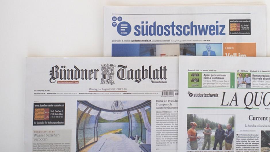 Somedia: Tageszeitungen bleiben nun doch «unabhängig»