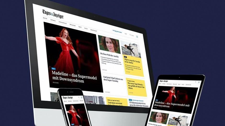 Tagesanzeiger.ch & Co.: Tamedia-Websites sind modern und schneller
