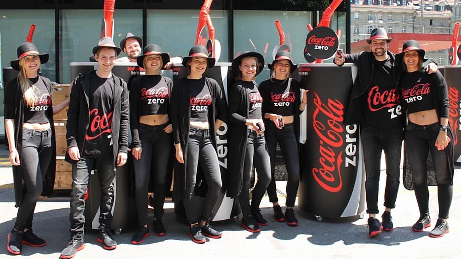 USP Partner AG: «Taste the feeling» für Coca-Cola erlebbar gemacht