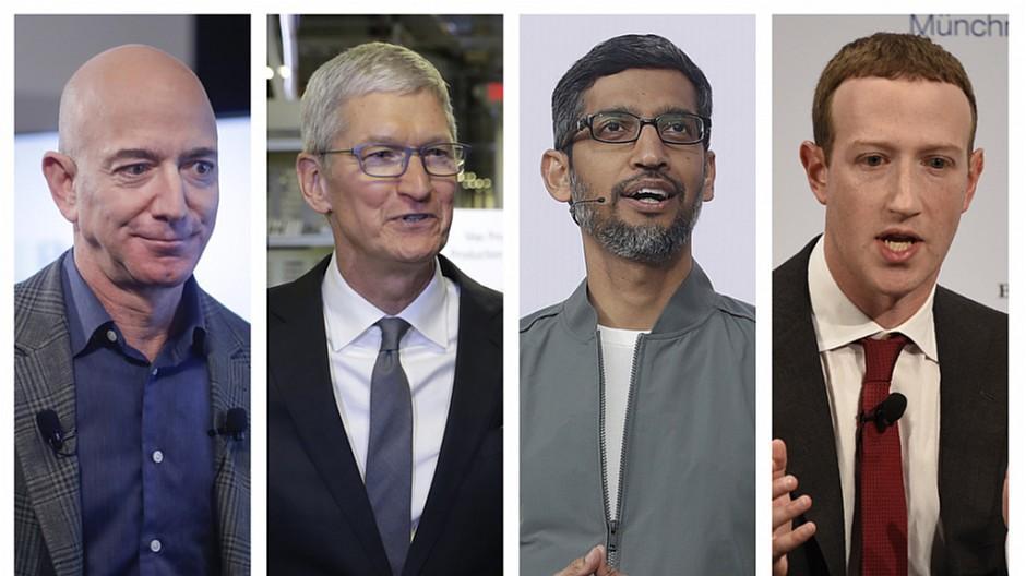 Apple, Amazon & Co.: Tech-Chefs müssen sich im US-Kongress äussern