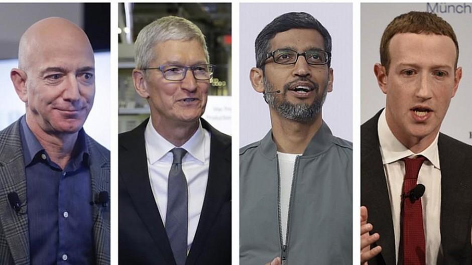 Apple, Amazon & Co.: Tech-Chefs wehren sich gegen Vorwürfe