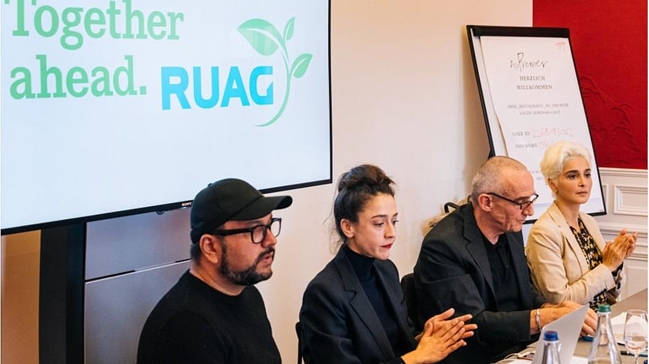 Ruag Green: Theater Neumarkt fälscht Presseaktion von Ruag