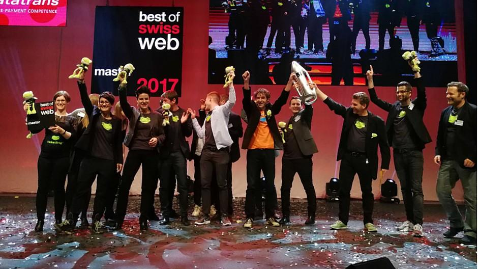 Best of Swiss Web Awards: Ticketfrog ist bestes Webprojekt des Jahres