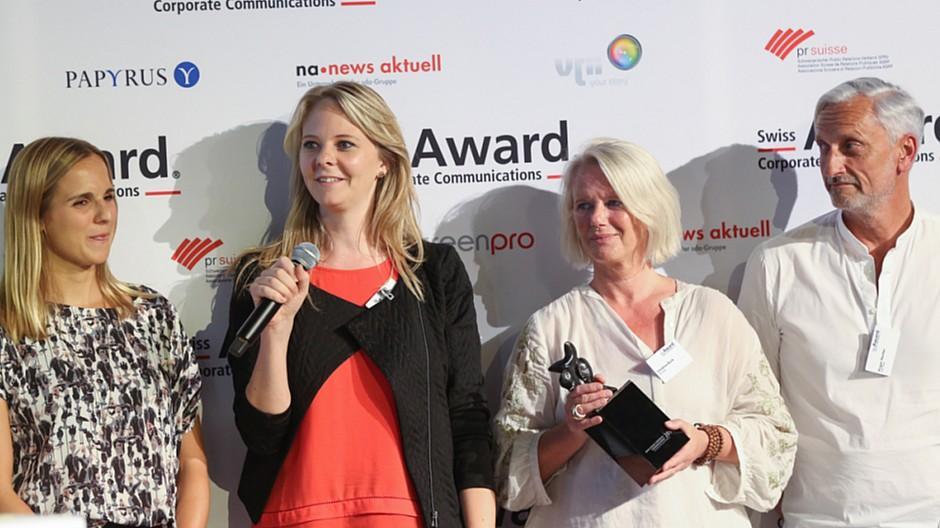Swiss Award Corporate Communications: Trophäen für JVM/Limmat und Stadt Winterthur