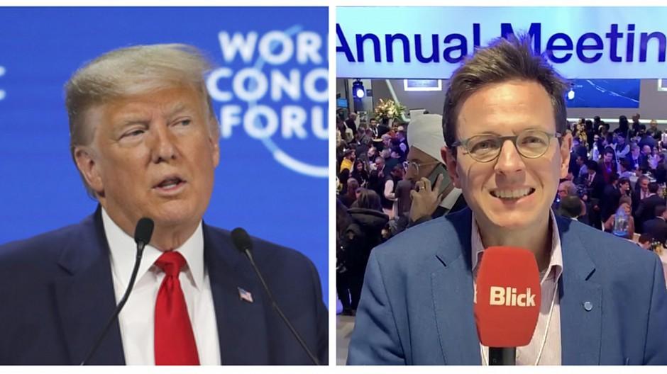 WEF Davos: Trump lässt Schweizer Medien links liegen
