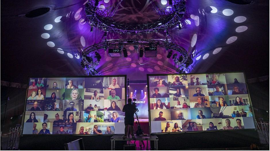 Das Zelt: TV-Show gewinnt BCMA-Auszeichnung