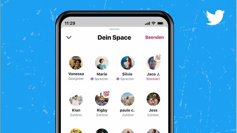 Spaces: Twitter startet neue Audio-Funktion