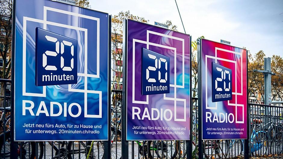 Rod Kommunikation: Ungewöhnliches Keyvisual für 20 Minuten Radio