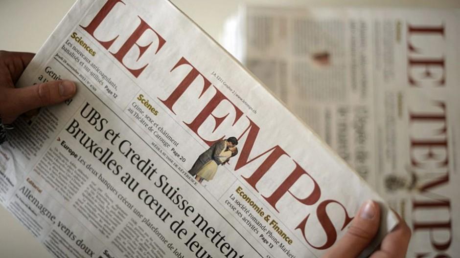 Ringer Axel Springer Schweiz: Verlag verspricht «Le Temps» nachhaltig zu sichern