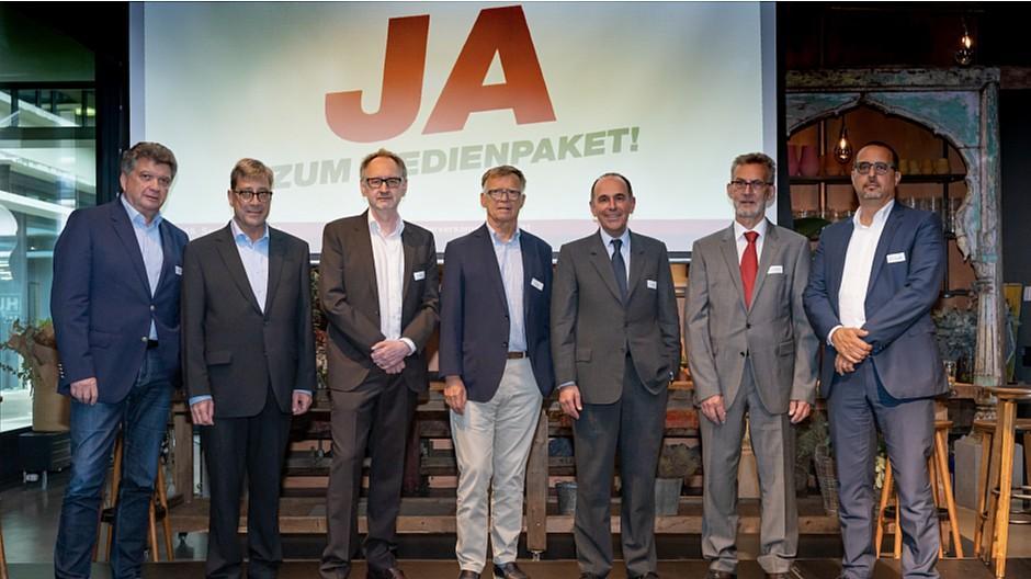 Medienförderung: Verlegerverband steht hinter Medienpaket